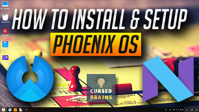 How To Install & Setup Phoenix OS As Dual Boot On Windows - Android 7.1 Nougat OS - Phoenix OS Review