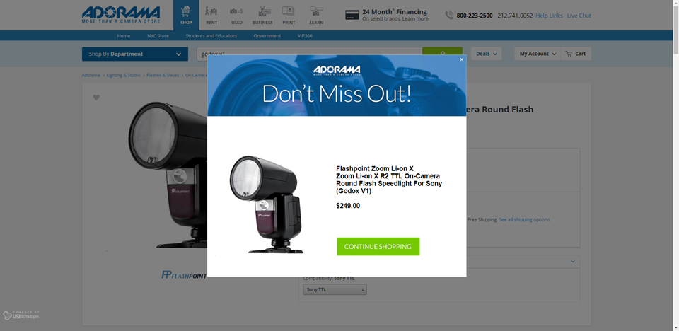 Цена Godox V1/Flashpoint Zoom Li-on X R2 TTL