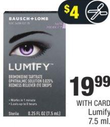 Lumify 7.5 ml. - $19.99