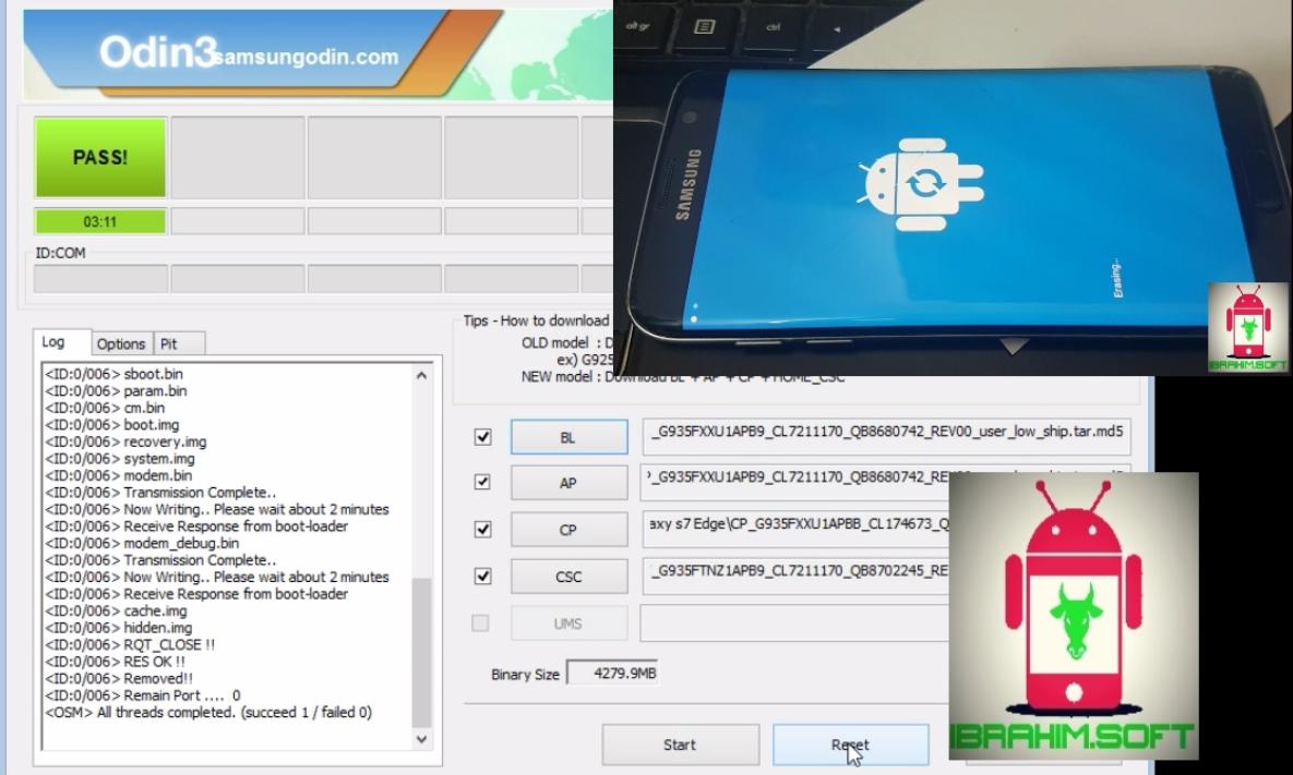 How To Flash (Replace) Samsung Galaxy J7 Professional (J7 2017) Oreo
