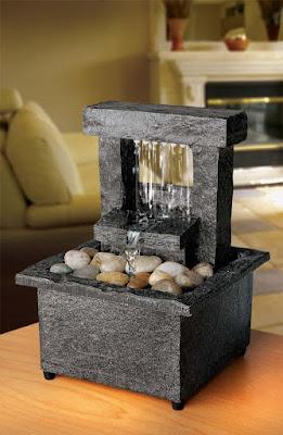 Mendekorasi rumah memang tidak pernah ada habisnya layaknya sebuah pepatah  70 Model Unik Air Mancur Mini Indoor