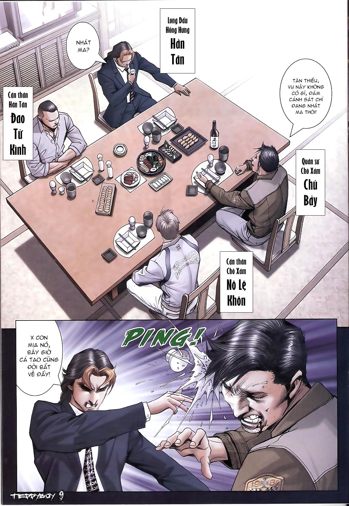 Người Trong Giang Hồ - Chapter 1321: Con trai Chó Xám - Pic 7
