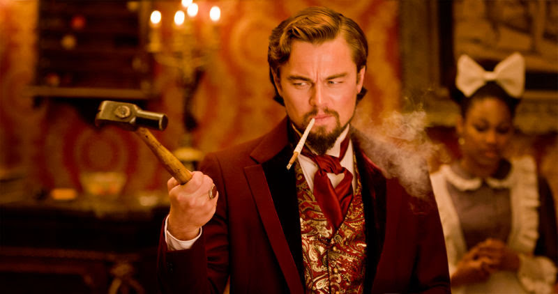 The movie set in Once Upon a Time in Hollywood is the same set used in Django Unchained : タランティーノ監督の新作「ワンス・アポン・ア・タイム・イン・ハリウッド」で、レオナルド・ディカプリオが演じるリックが主演している西部劇は、レオが悪役を演じた「ジャンゴ・アンチェインド」と同じセットで撮影されているという指摘のトリビア ! !