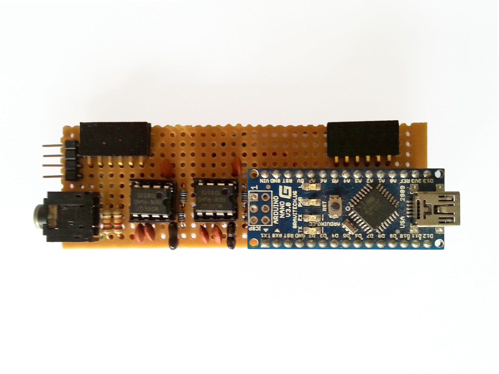 audio spectrum analyzer circuit diagram 1980 shovelhead wiring jollifactory arduino based bi color led matrix