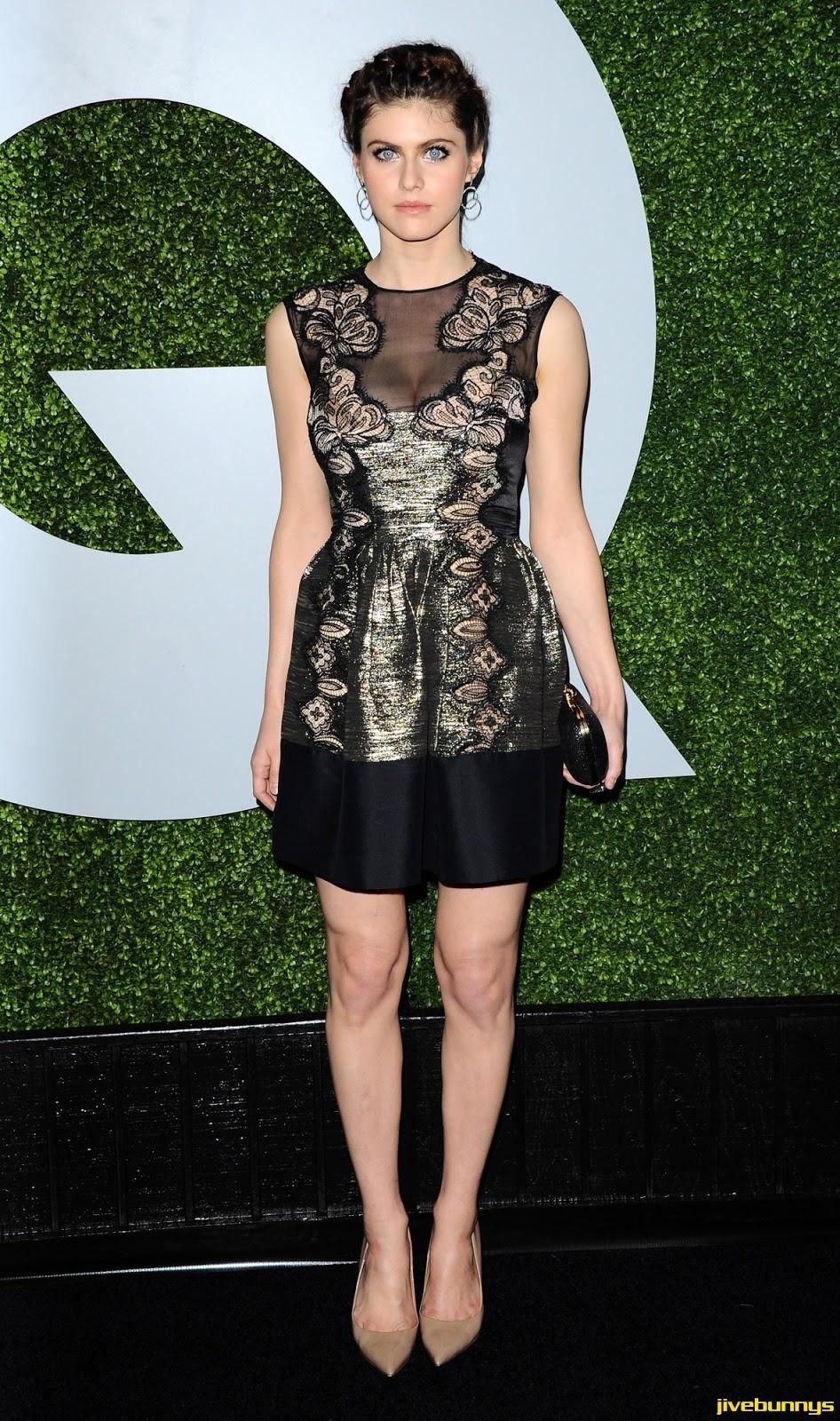 Alexandra Daddario - 2014 GQ Men Of The Year Party in LA 12/04/14