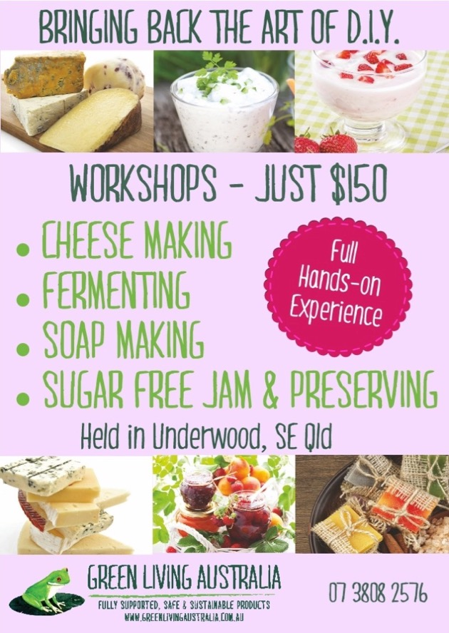 GREEN LIVING WORKSHOPS