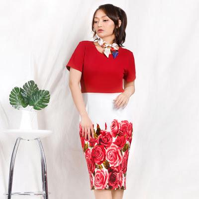 baju dress artis 2019 siti badriah
