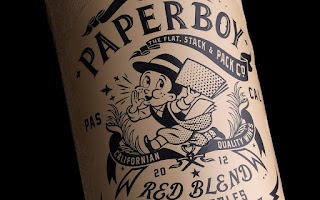 innovation packaging paper boy wine blog vin beaux-vins