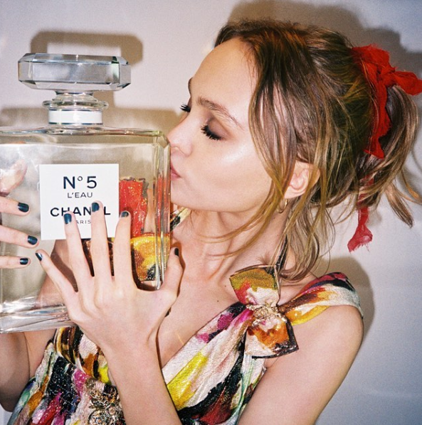 Lily-Rose Depp is the New Face of Chanel N°5 L'Eau