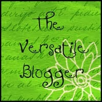 My Versatile Blogger Award