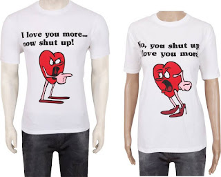 Valentine's Day shirts
