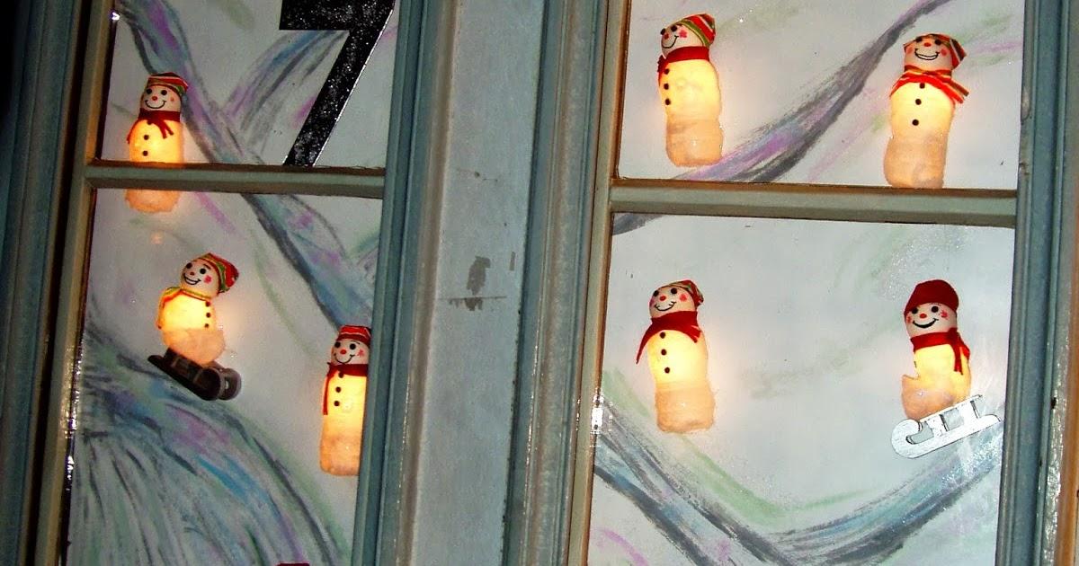 Zckzackstich Advent Fenster Für Den Dorf Adventkalender