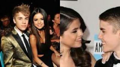Photo of Selena Gomez and Justin Bieber