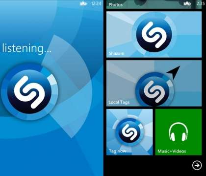 Shazam now available for Windows Phone 7.5/8, explore Music download now!