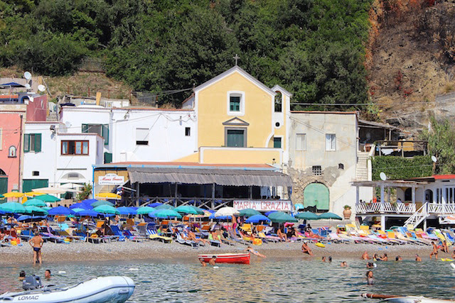 Restaurant Maria Grazia, Nerano, Amalfi coast