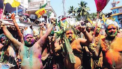 erumeli petta thulla is one of the most important part of sabarimala pilgrimage