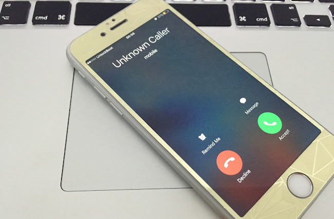 how to call yourself on iphoen