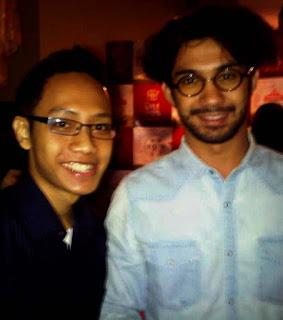 Blogger Eksis bersama Reza Rahardian sebagai Nominasi Piala Maya