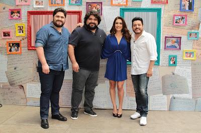 César Menotti, Fabiano, Ticiana e Bruno (Crédito: Gabriel Gabe)