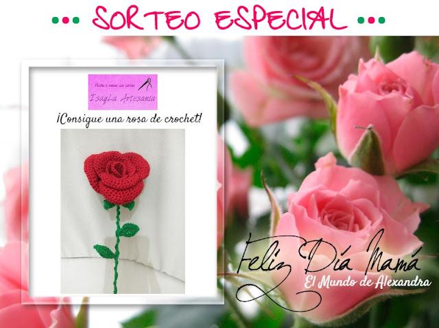 rosa crochet