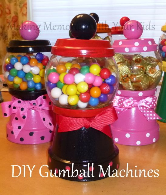 Diy Gumball Machine And Candy Dispenser Idees And Solutions