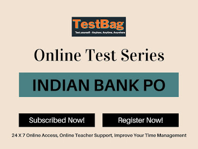 Indian Bank PO Mock Test