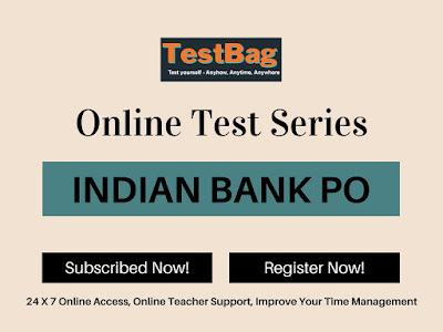 Indian Bank PO Mock Test