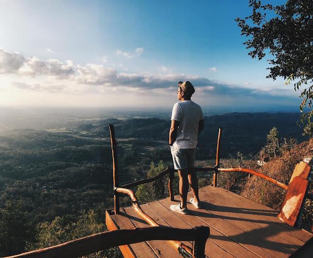 Tempat Wisata Puncak Becici Imogiri Bantul Yogyakarta
