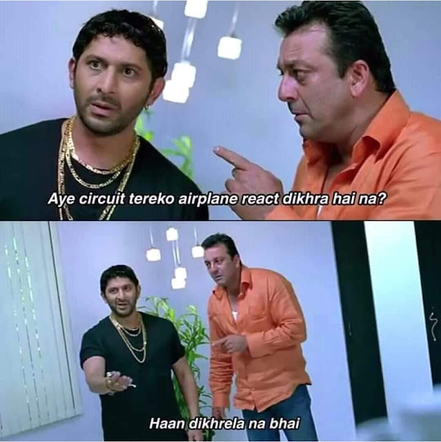 Facbook airplane reaction memes, all india bakchod memes, all india bakchod, facebook Reaction,