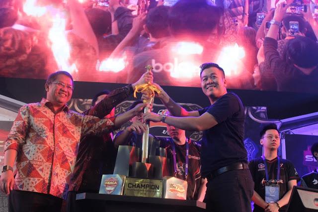 Peresmian Pembukaan Turnamen South East Asia Cyber Arena (SEACA) 2018