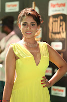 Madhu Shalini Looks Super Cute in Neon Green Deep Neck Dress at IIFA Utsavam Awards 2017  Day 2  Exclusive (52).JPG