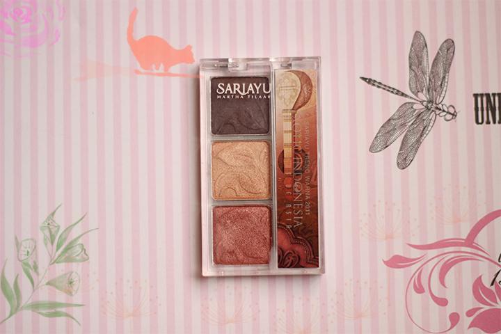 Sariayu Eyeshadow Yang Bagus Dan Wearable Review