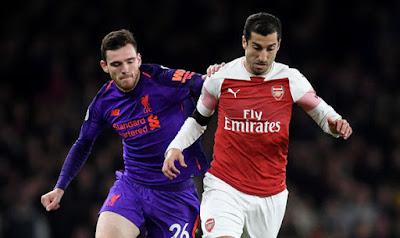 Highlight Arsenal 1-1 Liverpool, 3 November 2018