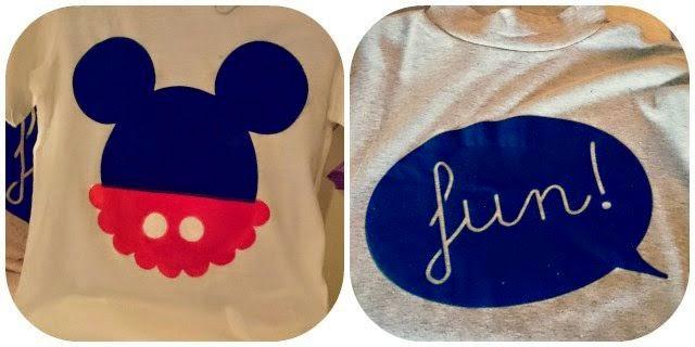 Camisetas DIY Mickey Fun