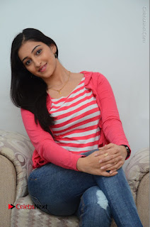 Telugu Actress Mouryani Latest Pos in Blue Denim Jeans  0178.JPG