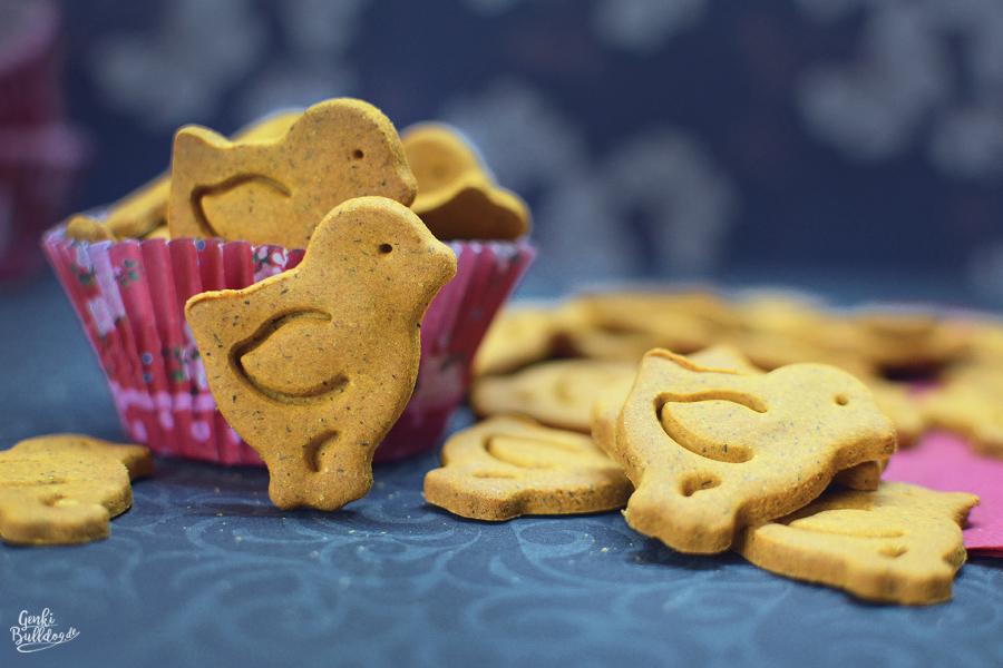Rezept: Karotten-Kurkuma Kekse für Hunde
