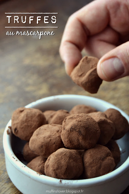 Truffes au Mascarpone - muffinzlover.blogspot.fr