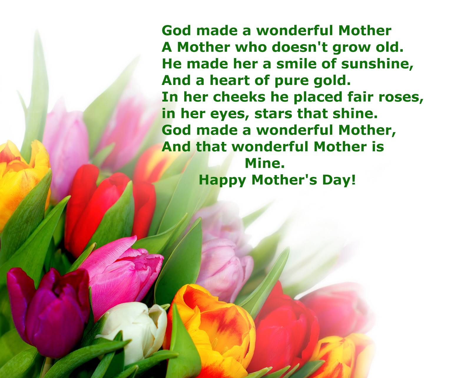 Happy Mother S Day Religious Quotes: Christian Garden