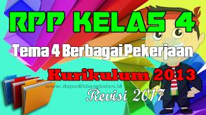RPP Kelas 4 Tema 4 Kurikulum 2013 Revisi 2017