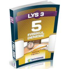 Güvender LYS-3 Fasikül 5 Deneme Seti