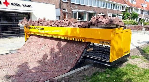 Tiger Stone Brick-laying Manchine