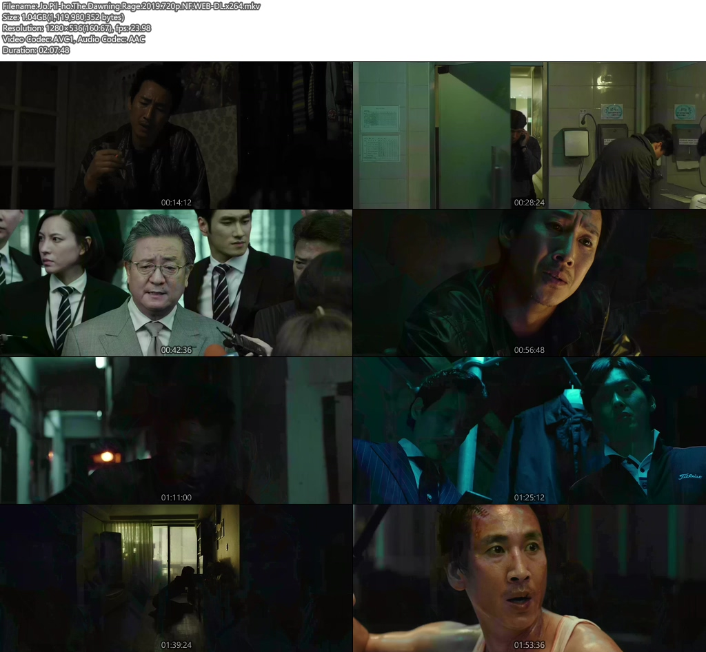 Jo Pil ho The Dawning Rage 2019 720p NF WEB-DL x264 | 480p 300MB | 100MB HEVC Screenshot