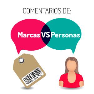 Marcas Vs Personas