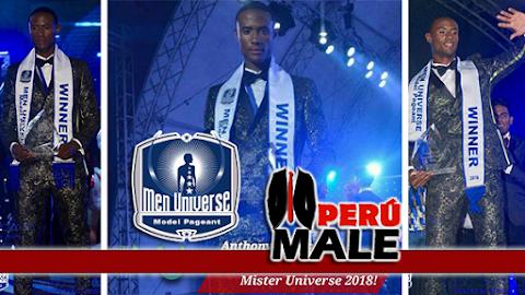 Men Universe Model 2018 is Curacao