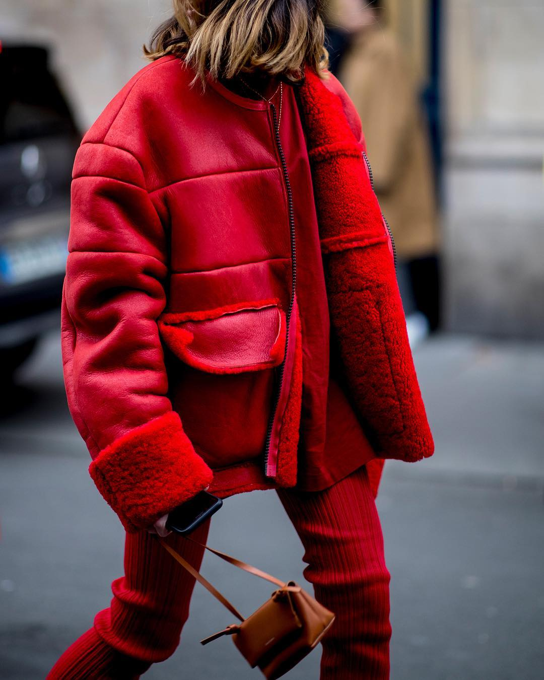 Standout Red Coats for Fall and Winter — @alexandraguerain Instagram Style
