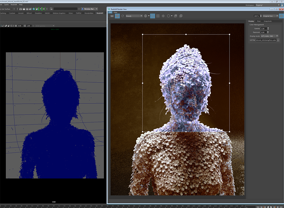 Redshift Custom Frame Buffer in Maya and Houdini | Redshift