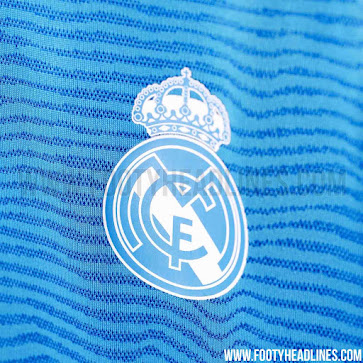 0c22dc90b Drawing inspiration from the navy   bright blue color scheme of the Real  Madrid Third Jersey