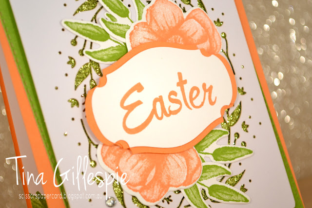 scissorspapercard, Stampin' Up!, Art With Heart, Incredible Like You Kit, Painted Seasons Bundle, Brushwork Alphabet, Rectangle Stitched Framelits, Easter