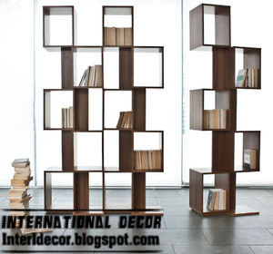 modern Italian bookshelf modular design, Italian shelves modular designs  ideas