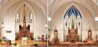 Before and After: St Mary's Church in Marion, Ohio